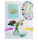 Poster gold foil Messy Creative