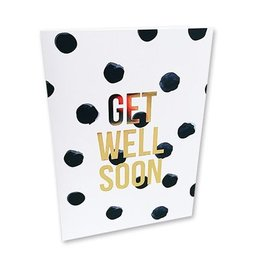 Studio Stationery Kaart Get well soon