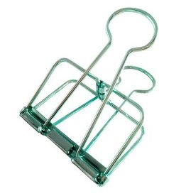 Studio Stationery Binder Clips XL mint