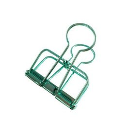 Studio Stationery Binder Clips mint
