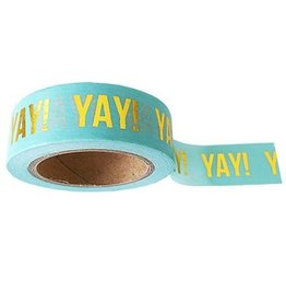 Studio Stationery Masking tape mint Yay!