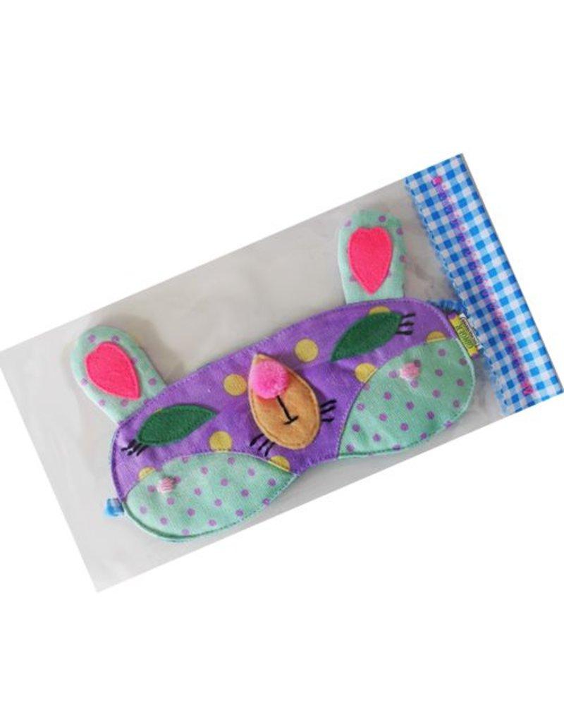 Slaapmasker fox purple