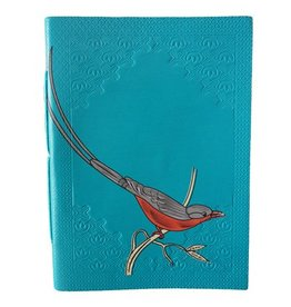 Notebook birdy blue