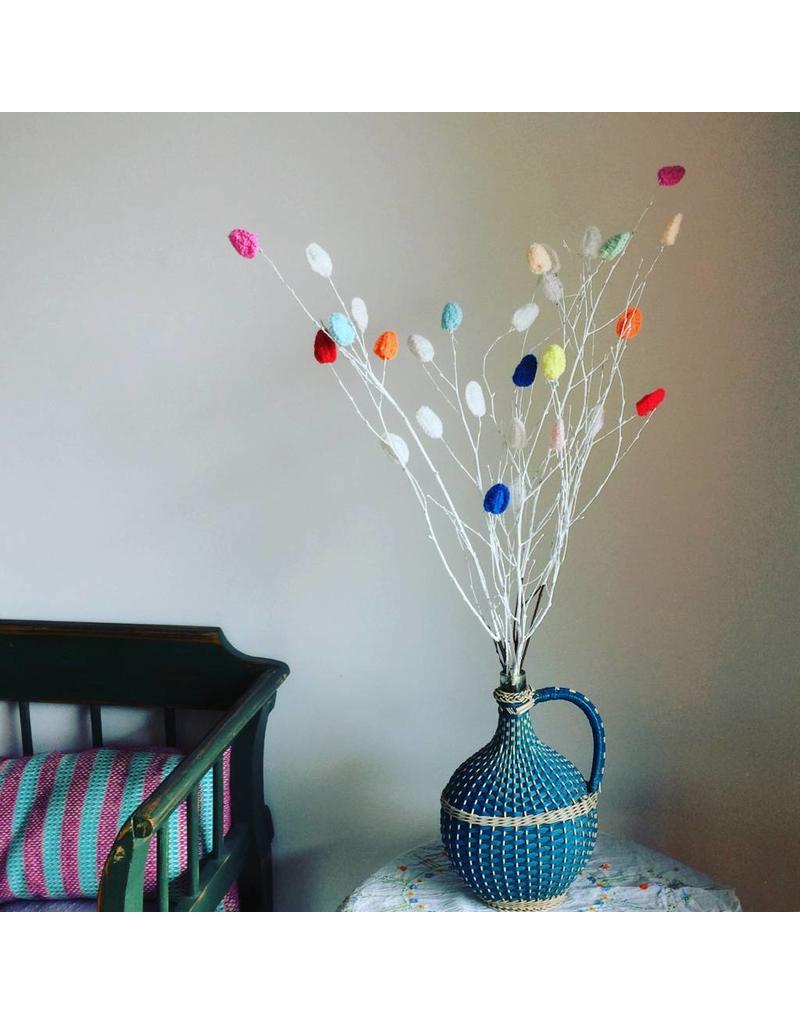 DIY leaves pastel