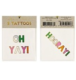 Tattoo set hooray