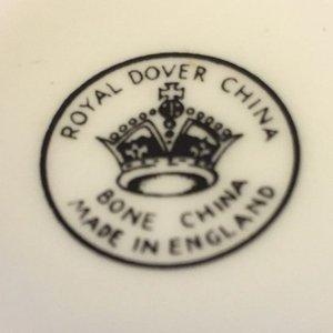 Antiek theekopje met kaars Royal Dover