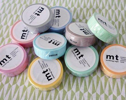 MT masking tape pastel lemon