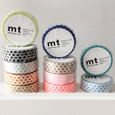MT masking tape dot night blue