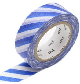 MT  MT masking tape stripe blue