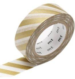 MT  MT masking tape stripe gold 2
