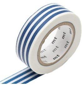 MT  MT masking tape border indigo