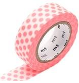 MT masking tape dot shocking red