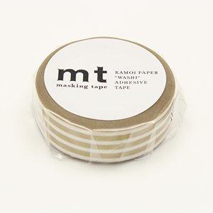 MT masking tape border gold 2