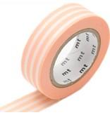MT masking tape border peach cream