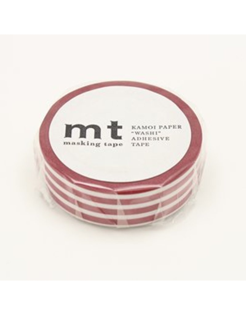 MT masking tape border strawberry