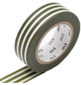 MT  MT masking tape border olive