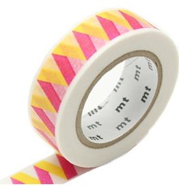 MT  MT masking tape rickrack yellow