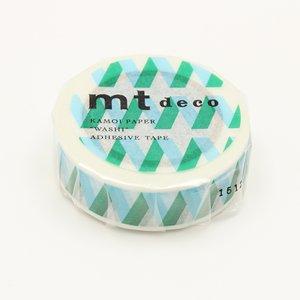 MT masking tape rickrack blue