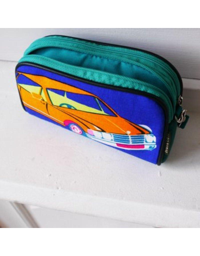 Handy pouch Huisteil  XL vintage car