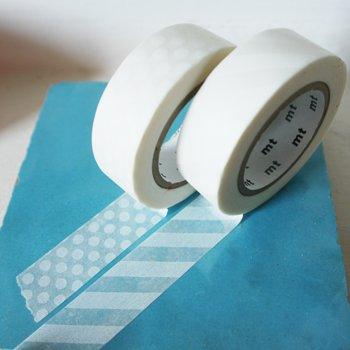 MT masking tape stripe white