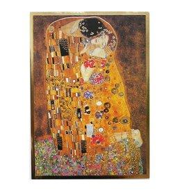 Hjelm Förlag Kaart De Kus van Gustav Klimt