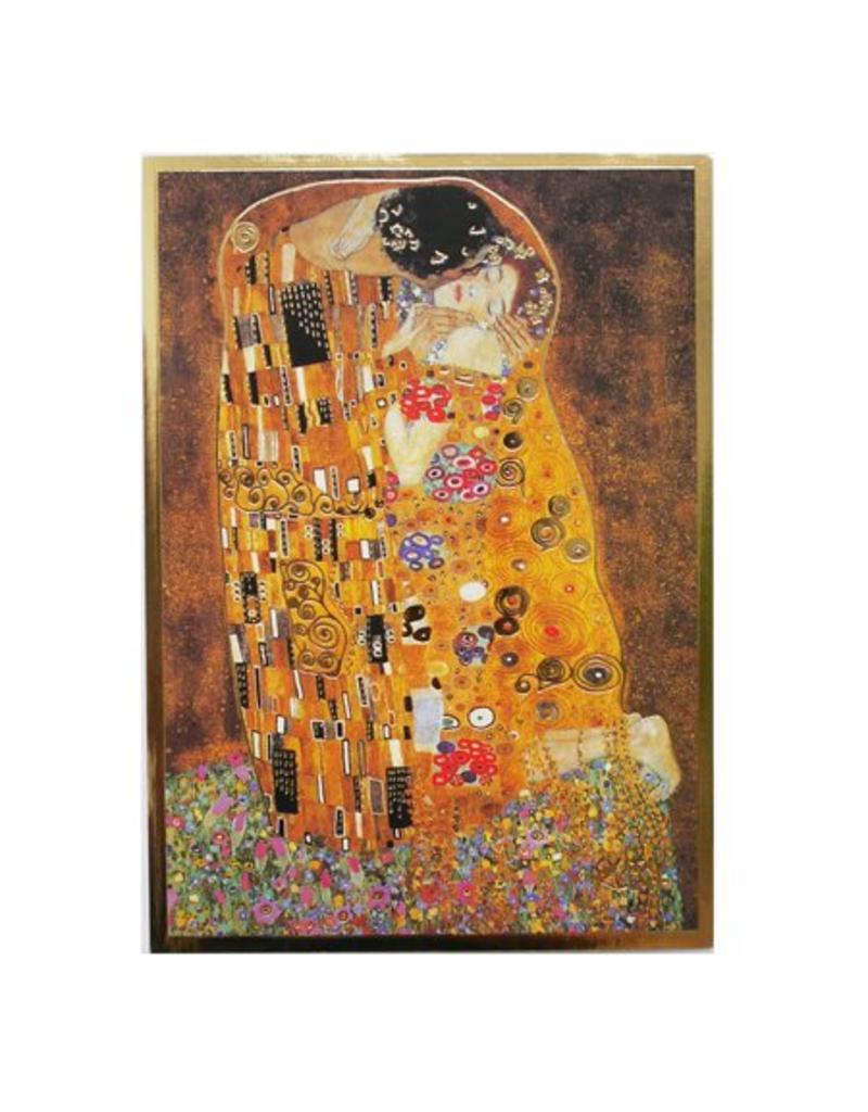 Kaart De Kus van Gustav Klimt