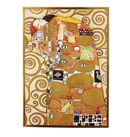 Hjelm Förlag Kaart Tevredenheid van Gustav Klimt