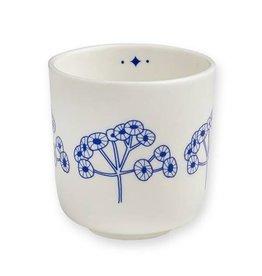 Mr. & Mrs. Clynck Porseleinen bekertje fleurs bleu