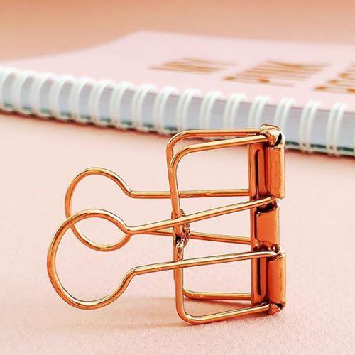 Binder Clips XL pink
