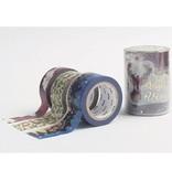 MT masking tape Kerst Poinsettia