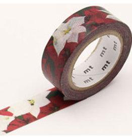 MT  MT masking tape Kerst Poinsettia