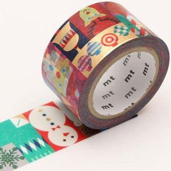 MT masking tape Geometric christmas