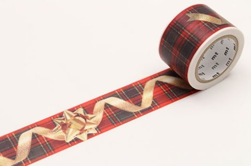 MT masking tape Christmas ribbon