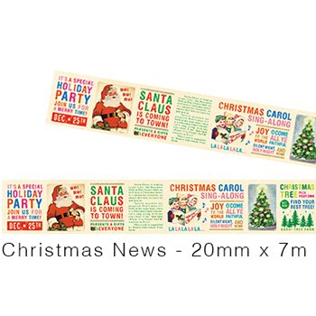 MT masking tape Christmas news