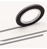 MT masking tape slim set grijs 3 mm