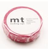 MT masking tape heart spot
