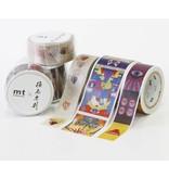 MT masking tape ex Tadanori Yokoo hand and mouth