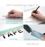 MT masking tape giftbox pastel