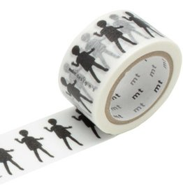 MT  MT masking tape ex Doll black