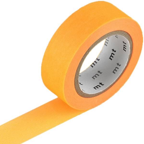 MT washi tape shocking orange