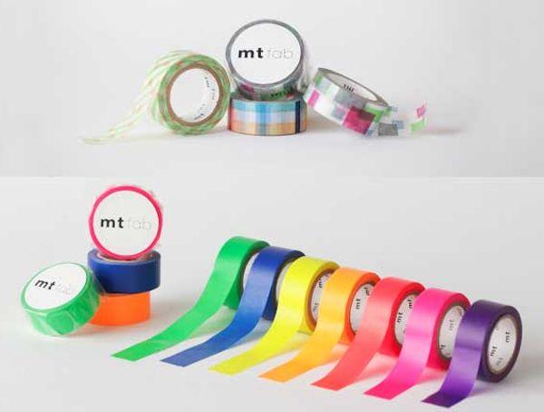 MT masking tape fab Fluor blue