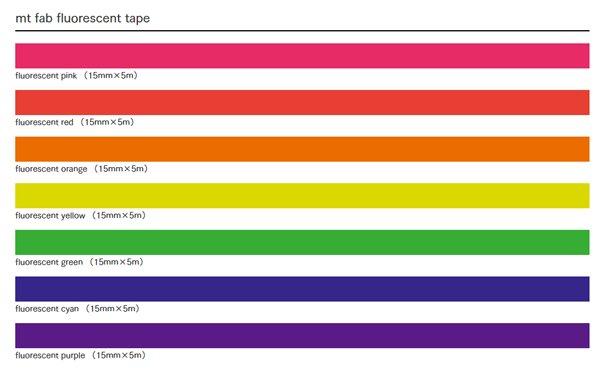 MT masking tape fab Fluor pink