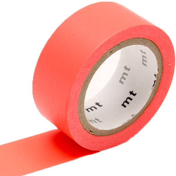MT masking tape fab Fluor red