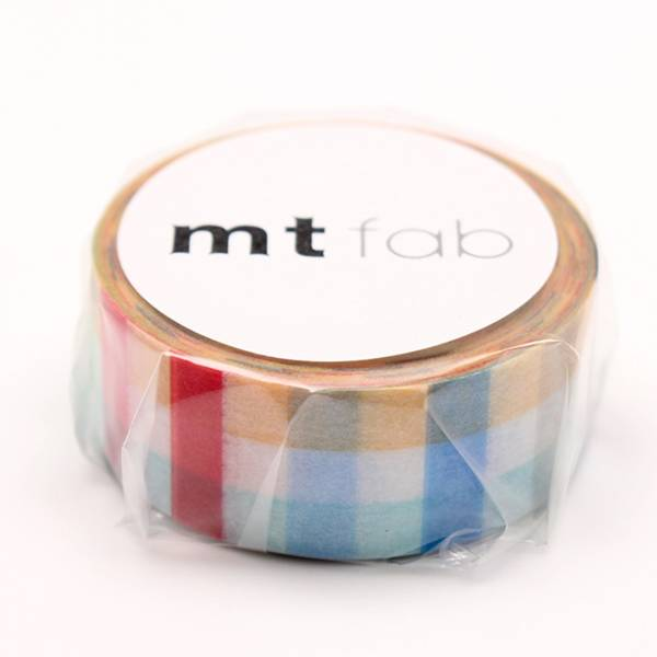 MT masking tape fab Plaid