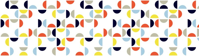 MT Casa shade Retro pattern