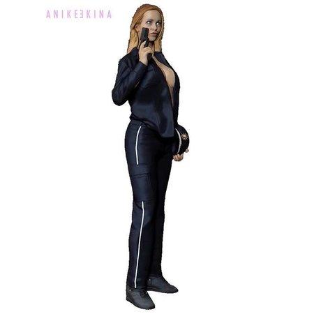 Anike Ekina - Sexy Police Gun-Girl