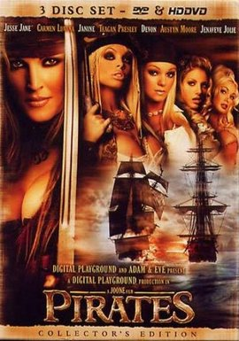 Digital Playground Pirates 1 - DVD