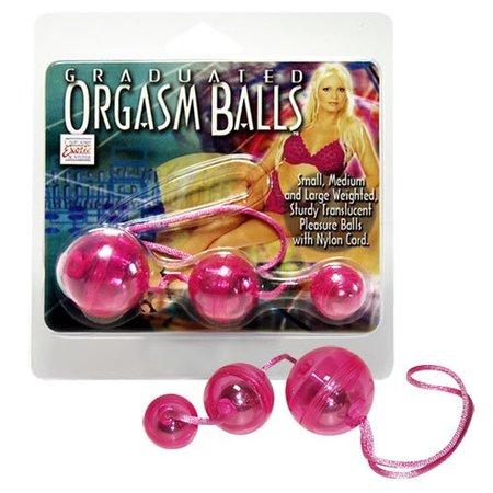 Graduated Orgasm Balls pink - Lustkugel-Trio