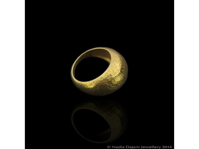 MATT GOLD ROMAN REPLICA RING