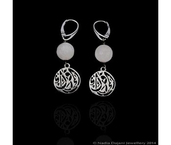 IQRA EARRINGS WITH STONE
